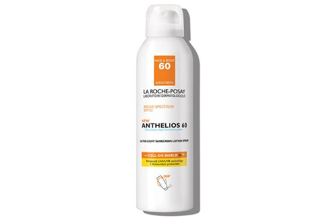 Spray Sunscreen for Face and Body Anthelios SPF 60