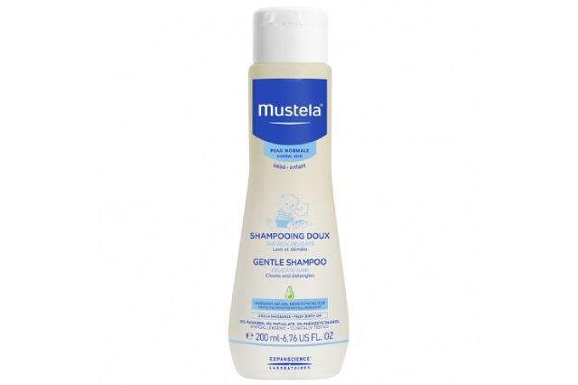 Mustela gentle shampoo delicate hair