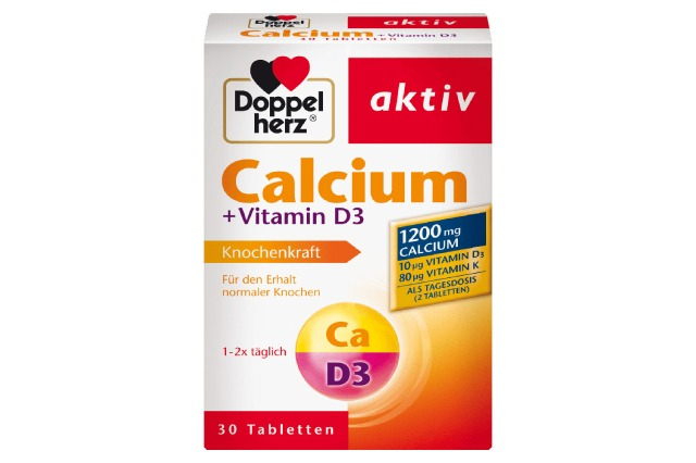 Doppelherz Calcium D3