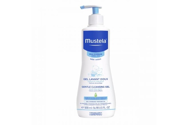 Mustela gentle cleansing gel for hair and body