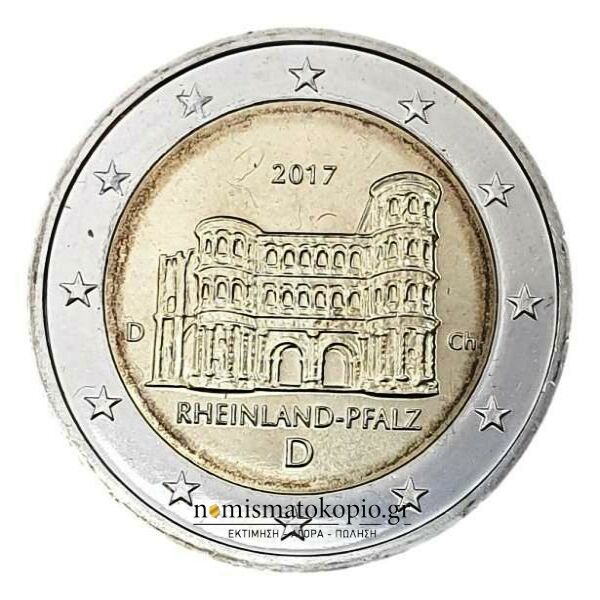 Germany - 2 Euro 2017 D, UNC
