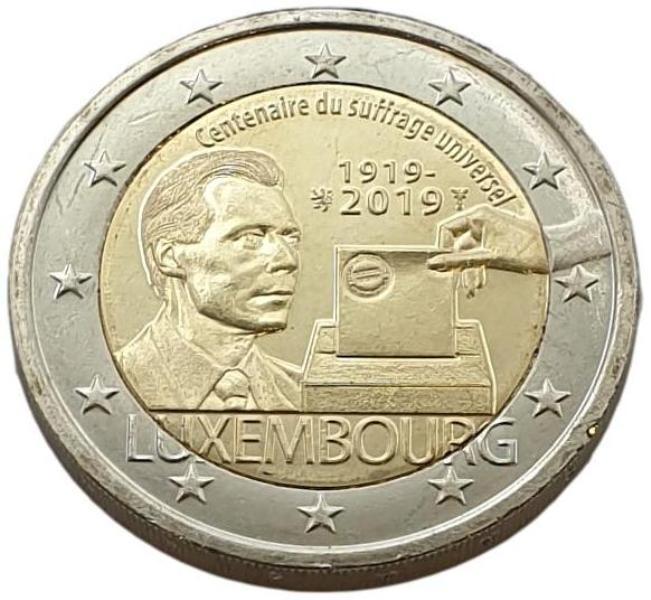 Luxembourg - 2 Euro 2019 B, UNC