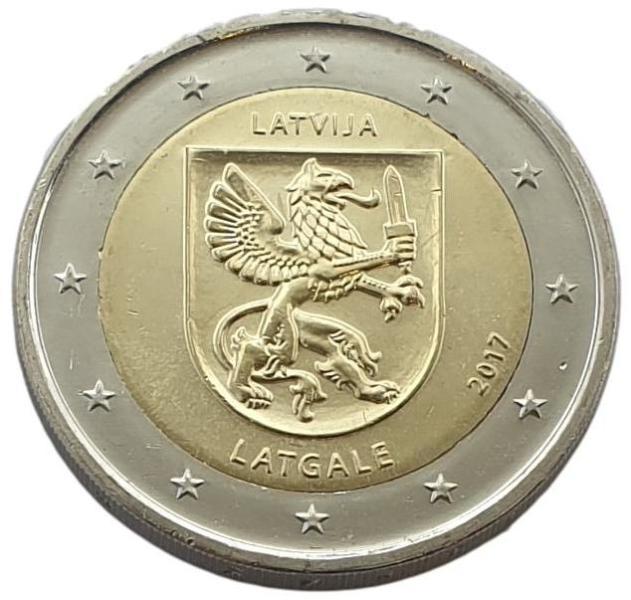 Latvia - 2 Euro 2017 B, UNC