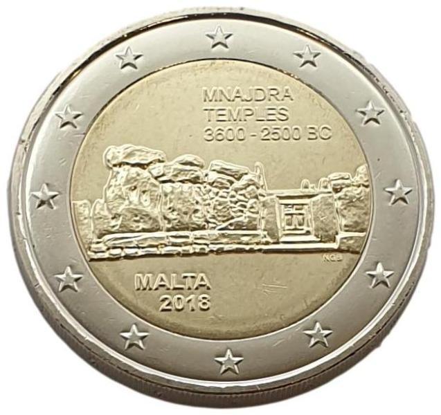 Malta - 2 Euro 2018 B, UNC