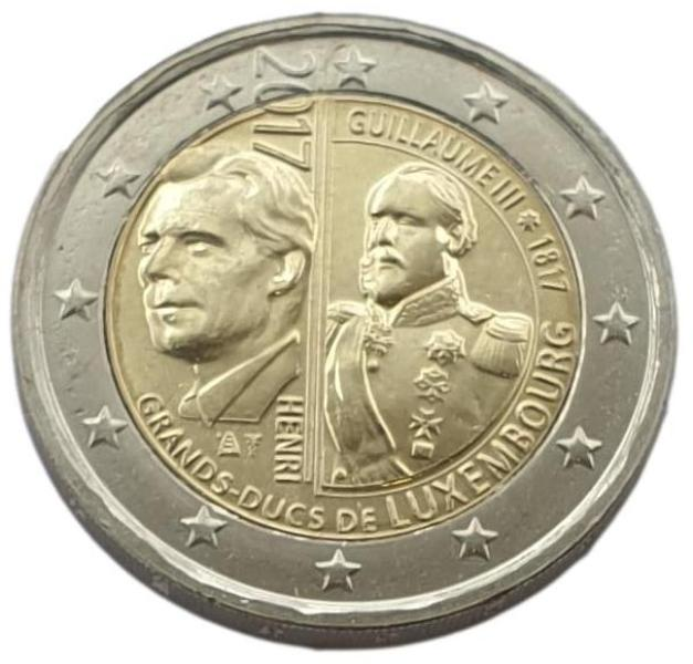 Luxembourg - 2 Euro 2017 A, UNC