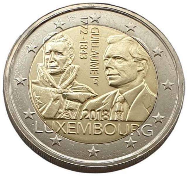 Luxembourg - 2 Euro 2018 B, UNC