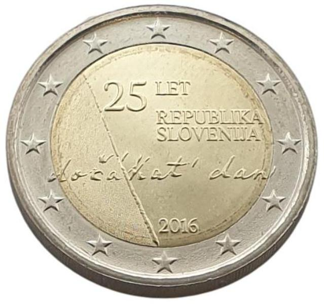 Slovenia - 2 Euro 2016, UNC