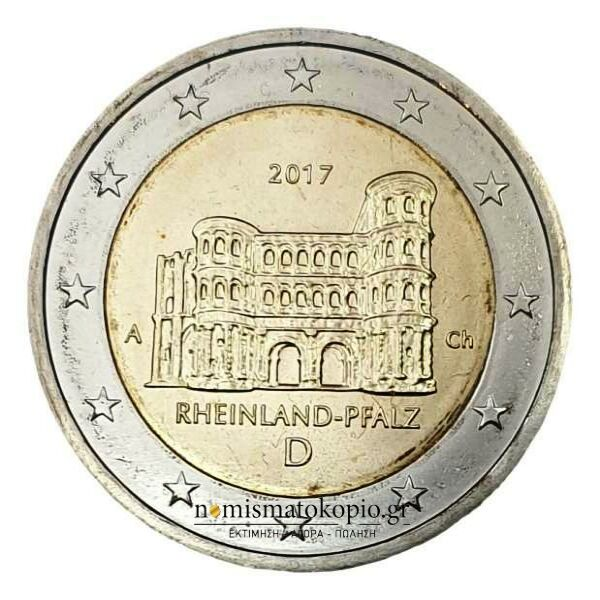 Germany - 2 Euro 2017 A, UNC