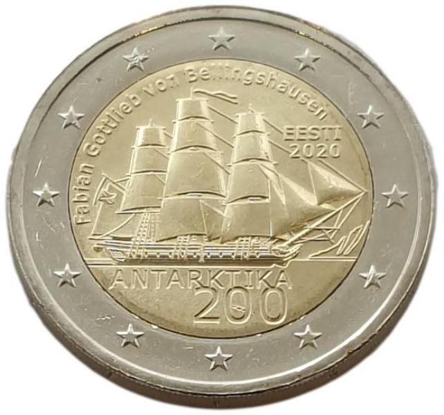 Estonia - 2 Euro 2020 A, UNC