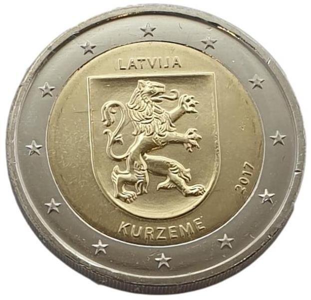 Latvia - 2 Euro 2017 A, UNC