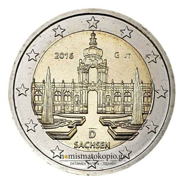 Germany - 2 Euro 2016 G, UNC
