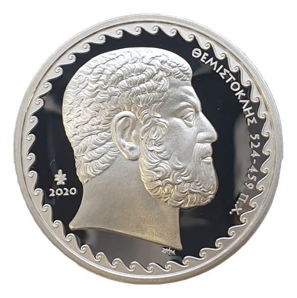 Greece - 10 Euro 2020, Themistoklis, Silver