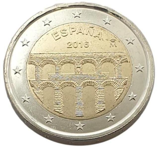 Spain - 2 Euro 2016, UNC