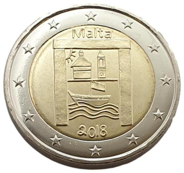 Malta - 2 Euro 2018 A, UNC