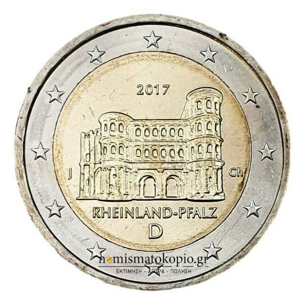Germany - 2 Euro 2017 J, UNC