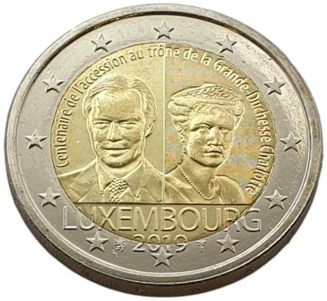 Luxembourg - 2 Euro 2019 A, UNC