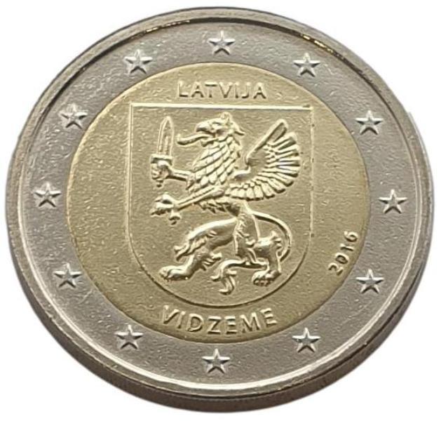Latvia - 2 Euro 2016 B, UNC