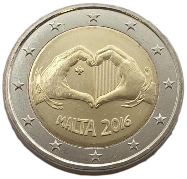 Malta - 2 Euro 2016 A, UNC