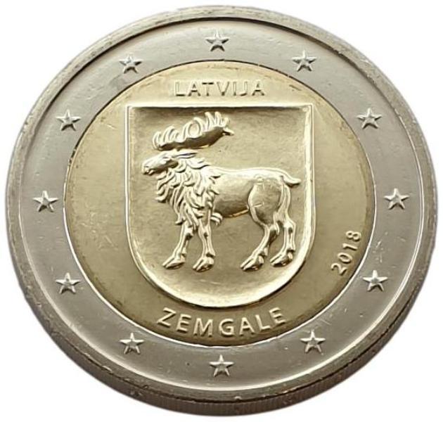 Latvia - 2 Euro 2018 B, UNC