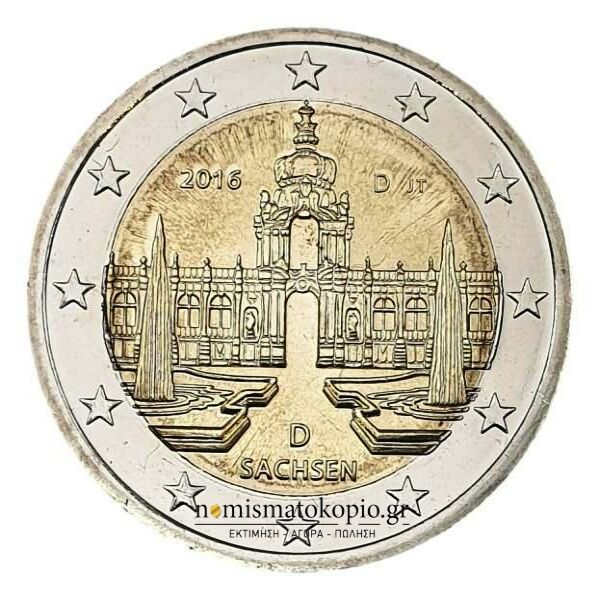 Germany - 2 Euro 2016 D, UNC