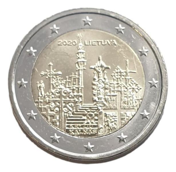 Lithouania - 2 Euro 2020 B, UNC
