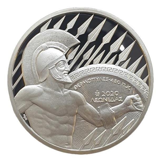Greece - 10 Euro 2020, Thermopylae, Silver
