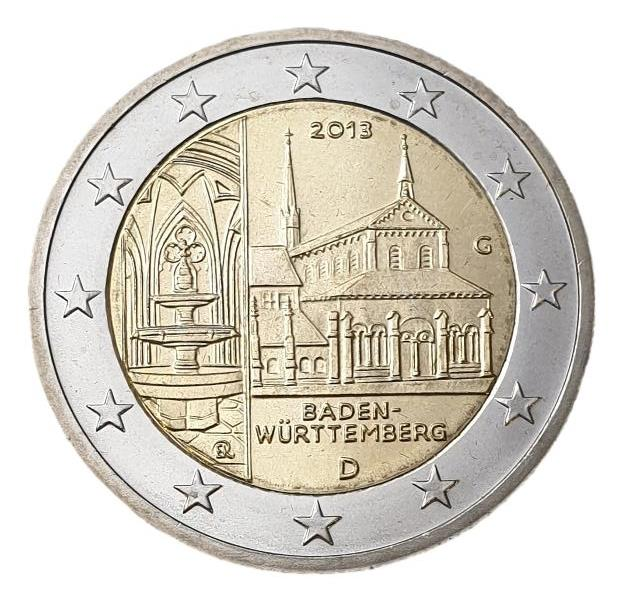 Germany - 2 Euro 2013 B, (G), UNC
