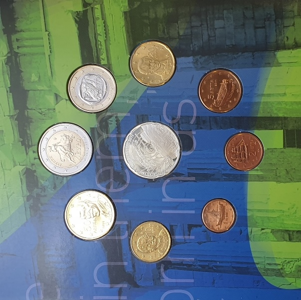 Coins Set - Special Olympics 2011 Acropolis + Silver Coins