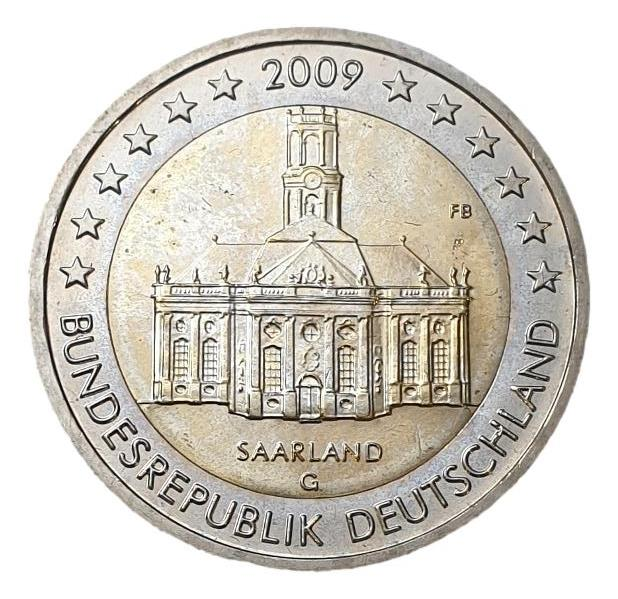Germany - 2 Euro 2009 G, UNC