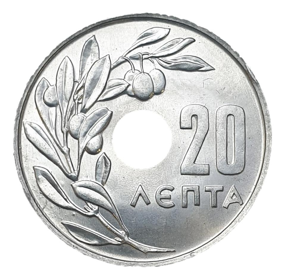 Greece - 20 Lepta 1969, UNC