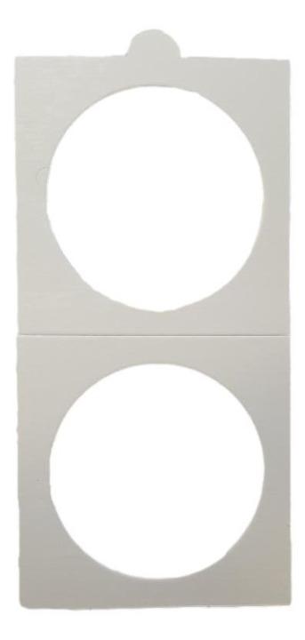HB - Paper Holder - Sticker - 25 Pieces (39,5 mm)