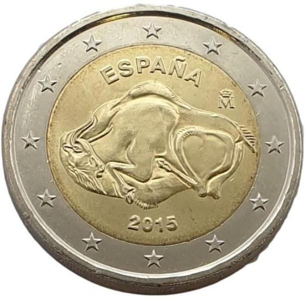 Spain - 2 Euro 2015, UNC