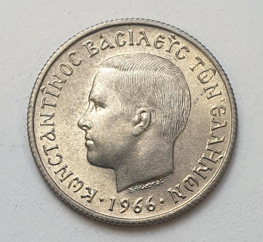 Greece - 50 Lepta 1966, UNC
