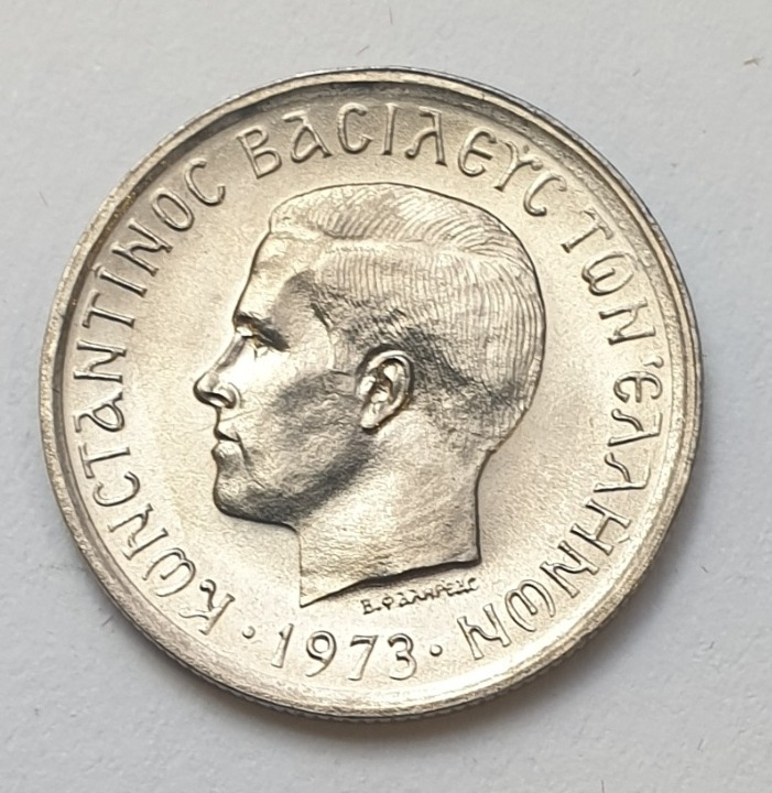 Greece - 50 Lepta 1973, UNC