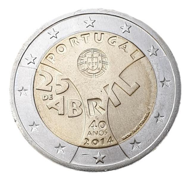 Portugal - 2 Euro 2014 B, UNC
