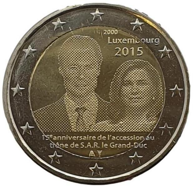 Luxembourg - 2 Euro 2015 A, UNC