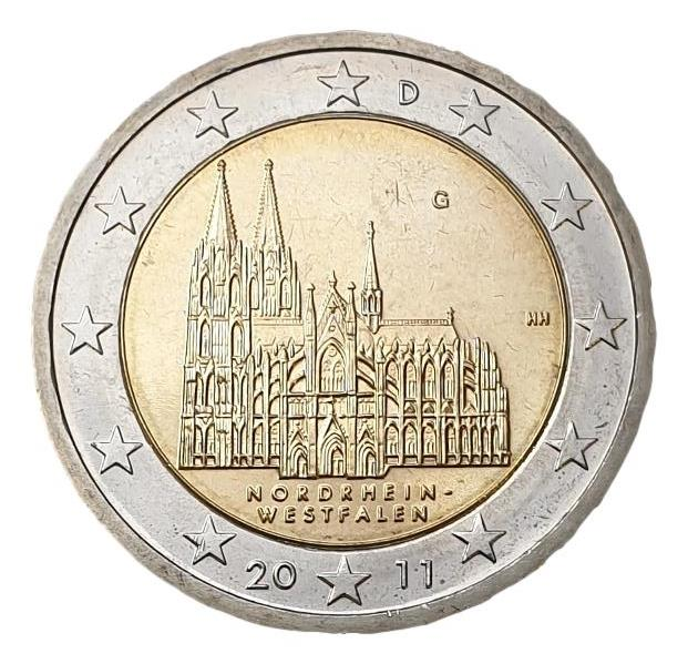 Germany - 2 Euro 2011 G, UNC