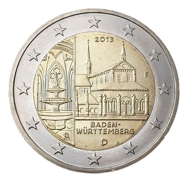 Germany - 2 Euro 2013 B, (F), UNC