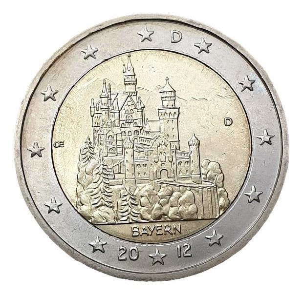 Germany - 2 Euro 2012 D, UNC