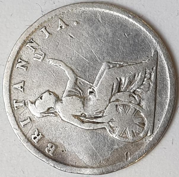 Greece - 30 Lepta 1834, Silver