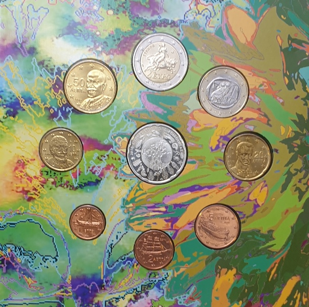 Coins Set - International year of biodiversity 2010 + Silver Coins