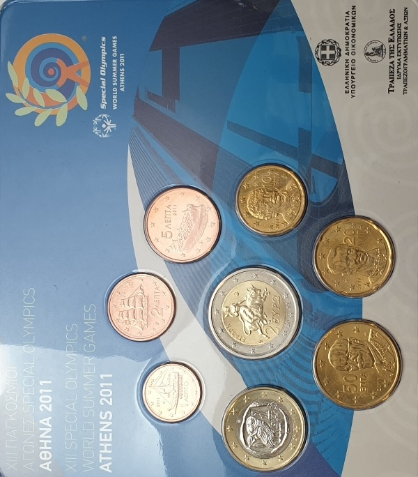 Coins Set - XIII Special Olympics 2011