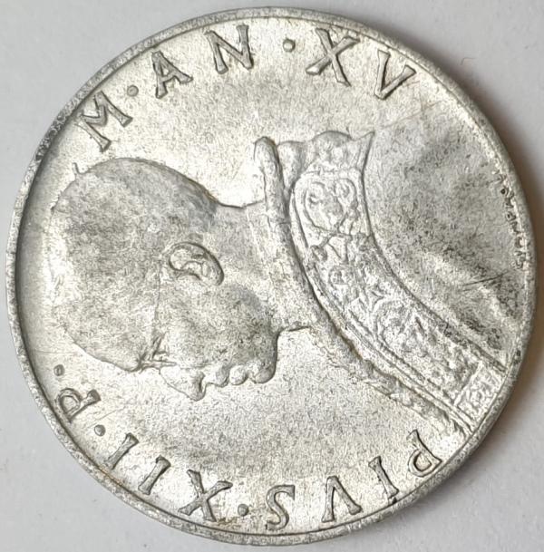 Vaticano - 10 Lire 1953
