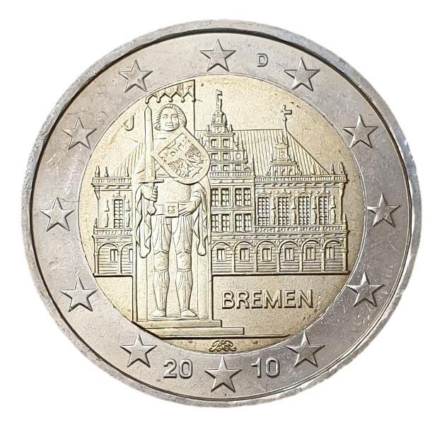 Germany - 2 Euro 2010 J, UNC