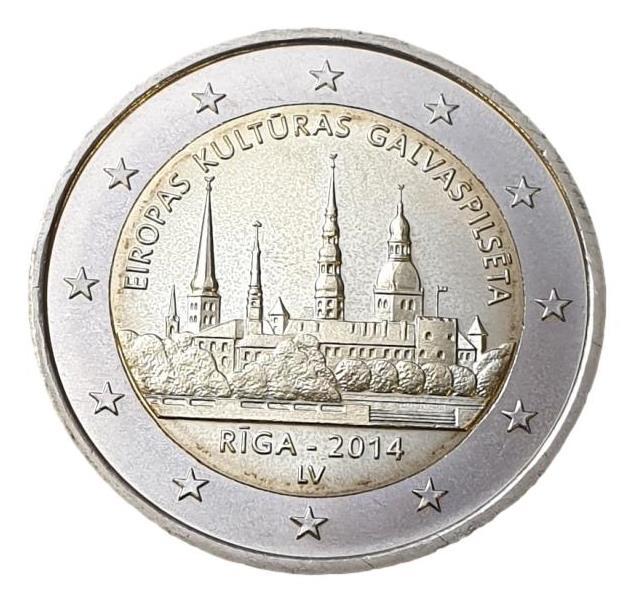 Latvia - 2 Euro 2014, UNC