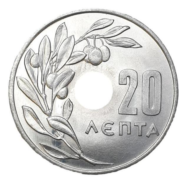 Greece - 20 Lepta 1964, UNC