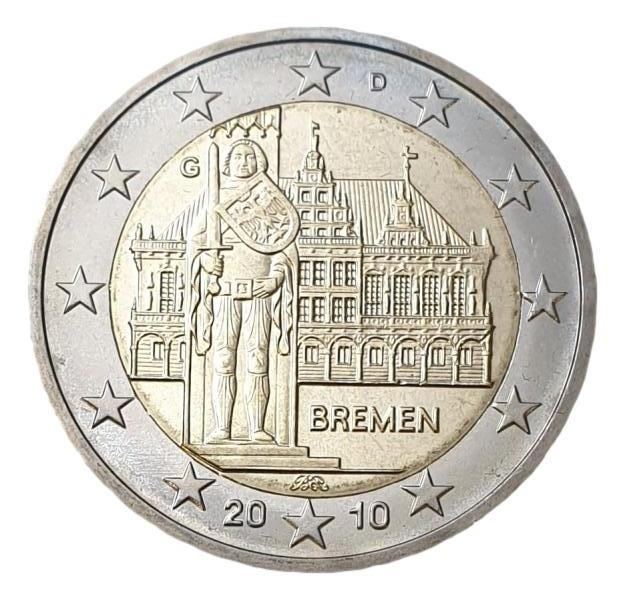 Germany - 2 Euro 2010 G, UNC
