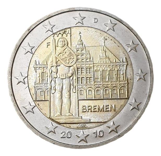 Germany - 2 Euro 2010 F, UNC