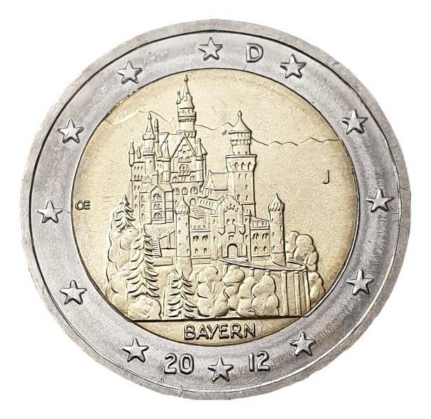 Germany - 2 Euro 2012 J, UNC