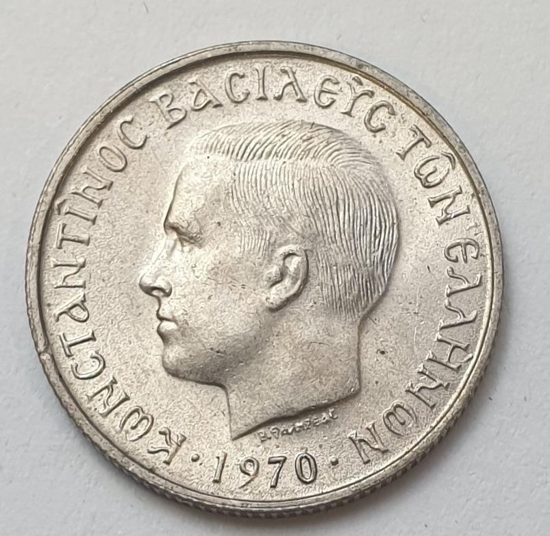 Greece - 50 Lepta 1970, UNC